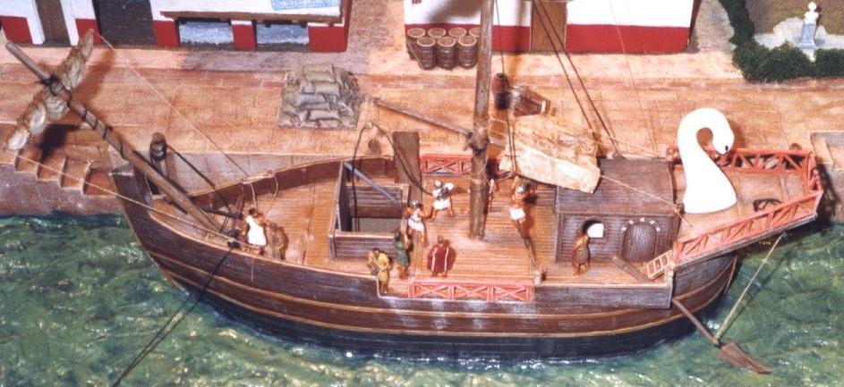 Römische Handelsschiffe